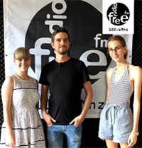 Chris bei Radio free FM